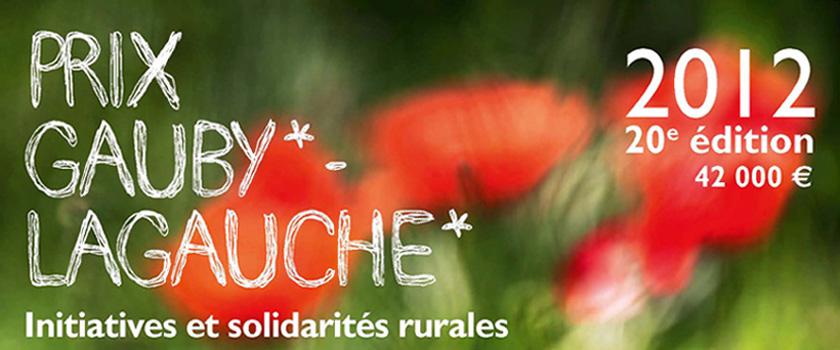 Prix Gauby-Lagauche – Édition 2012
