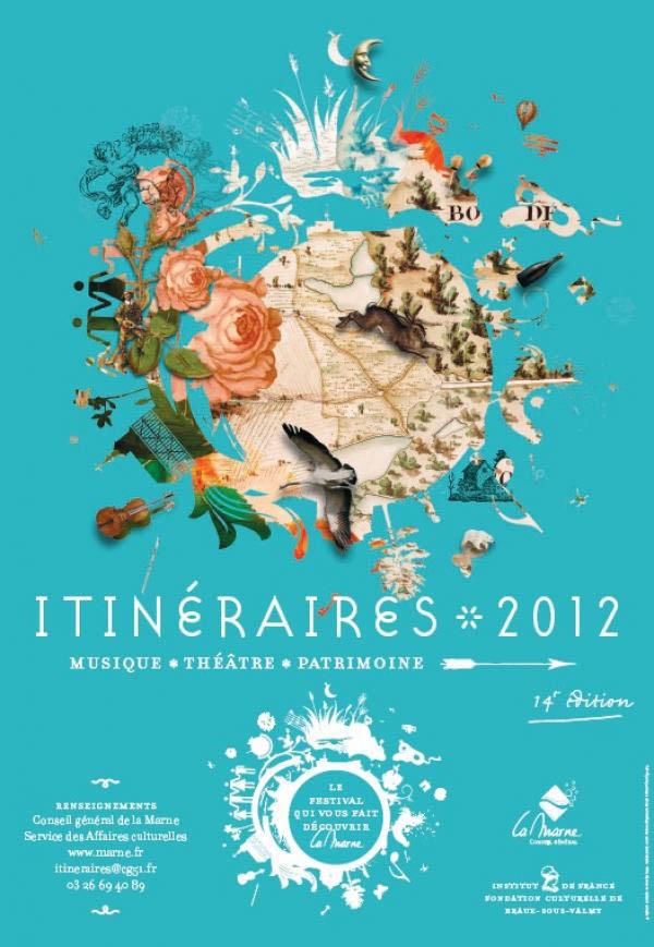 Affiche Festival Itinéraires